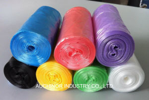 HDPE Plastic Garbage Bags with Different Colors pictures & photos