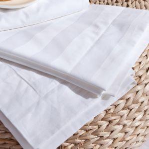 100% Egyptian Cotton Stripe Design Pillow Cover pictures & photos