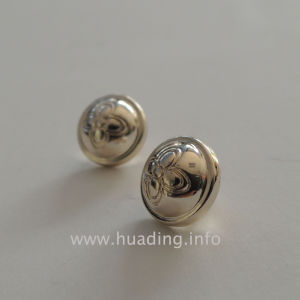 Hand Sewing Button with Flower Pattern (B910) pictures & photos