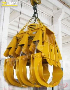 Electric Hydraulic Rectangle Grab China pictures & photos