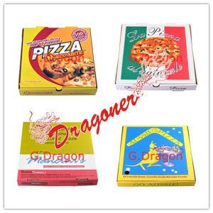 Locking Corners Pizza Box for Stability and Durability (CCB015) pictures & photos