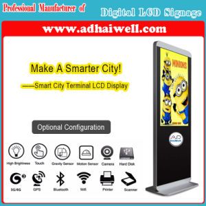 Digital Signage LCD Panel Displays LCD Screen Ads Players Android Touching LCD Display pictures & photos