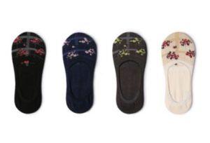 Lattest Fashion Floral Women Cotton Boat Sock pictures & photos