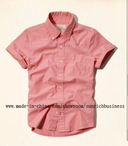 Men′s Cotton Plain Casual Shirt (SM14102) pictures & photos