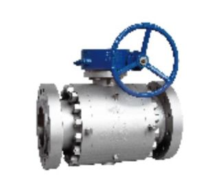 API Forged Steel Trunnion Type Ball Valve pictures & photos