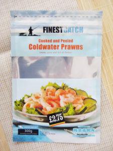 Customzied Frozen Food Plastic Bag/ Aluminium Foil Stand up Plastic Bag with Zipper pictures & photos