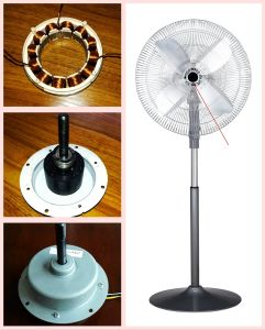 "20"" AC DC Industry Stand Fan 48W with DC 12V Brushless Motor pictures & photos"