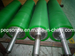 PU Pressure Roller on Machine pictures & photos