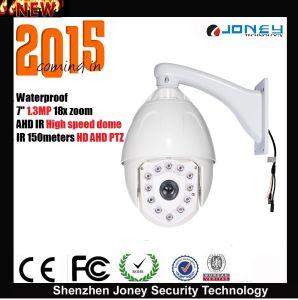 Joney 7 Inch Outdoor 1.3 Megapixel 960p Ahd IR PTZ CCTV Camera (IR 150M) pictures & photos