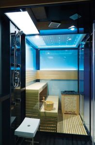 2017 Luxury Steam and Dry Steam Sauna Room M-6032 pictures & photos