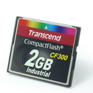 Transcend Compactflash CF300 Flash Memory Card 2GB Industrial Card pictures & photos