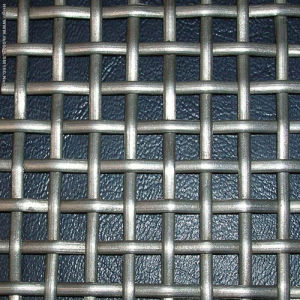 Galvanized Square Hole Woven Wire Mesh pictures & photos