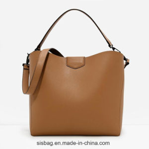 High Quality PU Soft Hobo Hanbag for Ladies pictures & photos