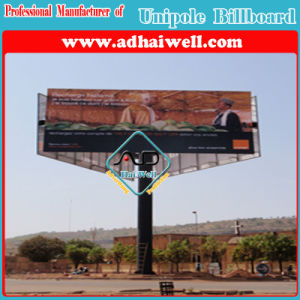 Three Sided Hot-DIP Galvanized Steel Structure Advertising Billboard pictures & photos
