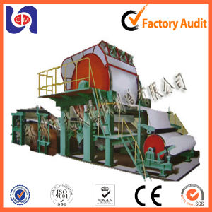 Tissue Paper Jumbo Roll Making Machine, Paper Recycling Plant Machinery pictures & photos