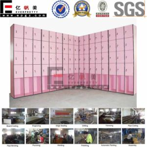 Hot Sale Compact Laminate Wardrobe for Changing Room pictures & photos
