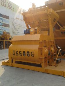 Small Scale Concrete Mixer (Js500) pictures & photos