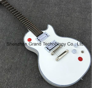 Lp Custom Kill Switch Buckethead White Electric Guitar (GLP-210) pictures & photos