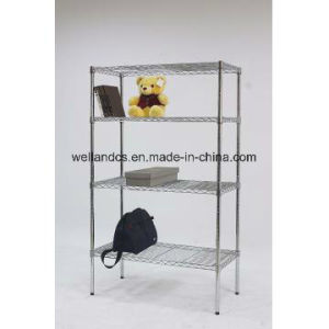NSF Standard 250lbs Chrome Metal Wire Grid Display Rack (CJ9045180A4C) pictures & photos