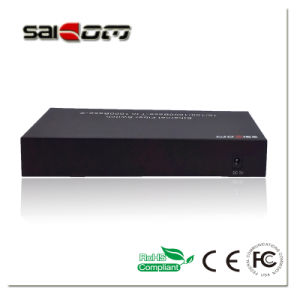 1000Mbps Optical Aggregation 8GX+2GE Ports Fast Ethernet Network Switch pictures & photos