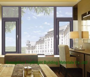 Double Glazing Glass Bathroom Aluminium Casement Window Price pictures & photos