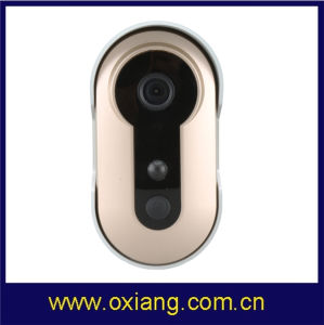 WiFi Wireless Ring Doorbell Camera Video Door Bell Phone with Record Remote Intercom Home Security with Two Way Audio pictures & photos