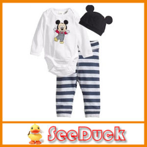3PCS Set Soft Cotton Baby Animal Romper Ks102101