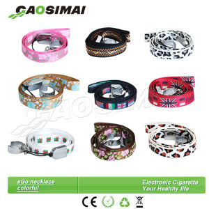Very Popular EGO Thick Material Colorful Ring Necklace/Ring Lanyards