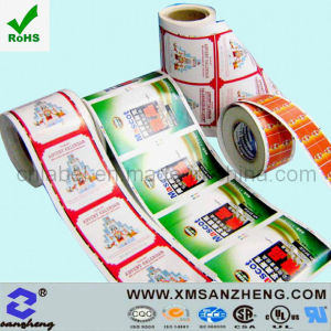 Heat Resistant Sticky Glossy Clear CSA Approved Colorful Packaging Labels pictures & photos