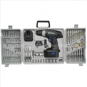 Power Set 19.2V 3/8 Cordless Drill Driver with 88-PC Kit pictures & photos