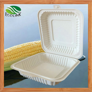 Disposable Biodegradable Tableware Lunch Box 1200ml pictures & photos