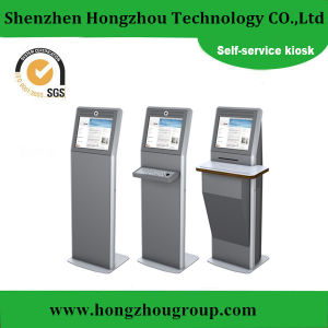 17-22 Inch Station Ticket Touch Screen Self Service Kiosk pictures & photos