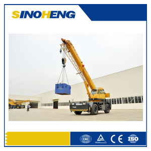 China 75 Ton Rough Terrain Crane Qry75 pictures & photos