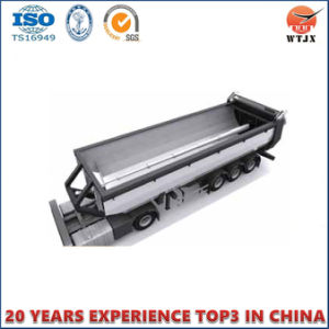 Horizontal Direction Telescopic Hydraulic Cylinder for Dump Truck pictures & photos