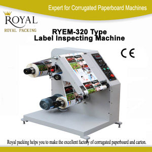 Good Quality, Low Price, Ryem-320 Type Label Inspecting Machine pictures & photos