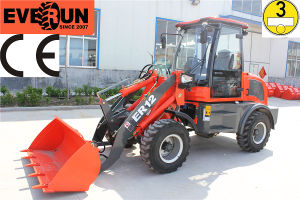 Everun CE Approved Er12 Small Wheel Loader with EU Engine pictures & photos