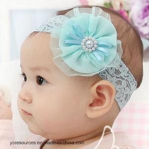 Baby′s Headbands Girl′s Cute Hair-a Flower, Pearl Headband pictures & photos