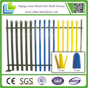 Best Price Commercial Steel Palisade Fence pictures & photos