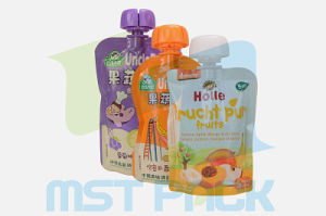 Anti-Chew Spout Pouch for Beverage Packaging pictures & photos