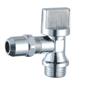 Chrome Plated Brass Angle Valve with ABS Handle (BX-518)