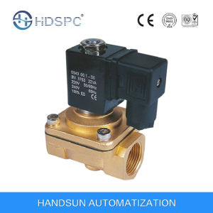 PU220 2/2 Way Direct Action Brass Water Solenoid Valve pictures & photos