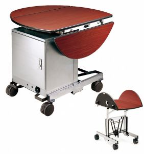 Trolley with Stainless Steel and Warm-Box for Service (FW-10) pictures & photos