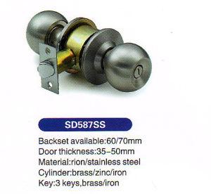 High Security New Design 587 Ss Door Lock pictures & photos