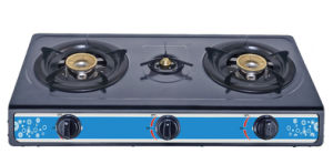 Cheaper Model Three Burner Gas Stove
