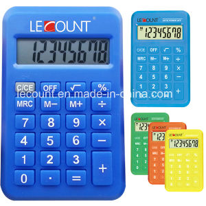 Promotional Gift 8 Digits Dual Power Pocket Calculator with Various Colors (LC396B) pictures & photos
