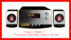 Plexiglass Pane Home Theatre System (Classic Number 7)