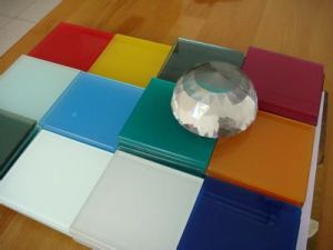 Colored Laminated Glass with SGS CCC (JINBO) pictures & photos