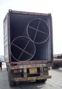 Welded Construction Steel Pipe in En10219 S355jrh, S355j2h pictures & photos