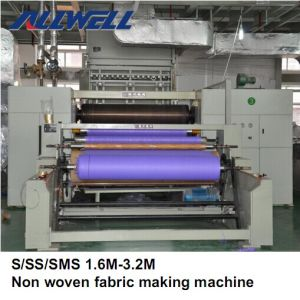 Most Welcomed S/Ss PP Nonwoven Fabric Making Machine pictures & photos