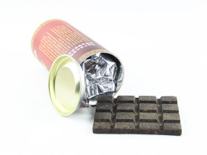 300g Paper Tin Chocolate Tea Dark Tea Pressies pictures & photos